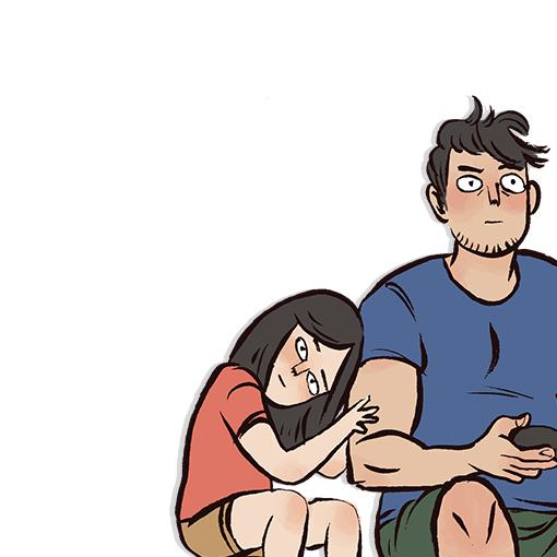 My Giant Nerd Boyfriend | WEBTOON